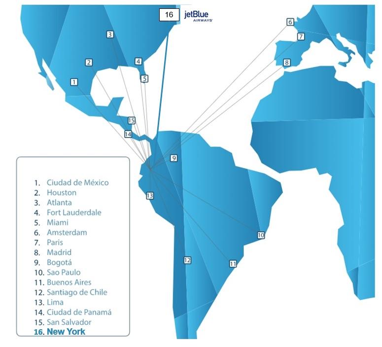 New York closer to Galapagos